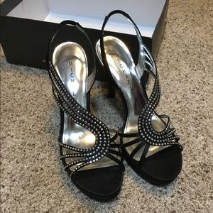 High heels from Michael Shannon